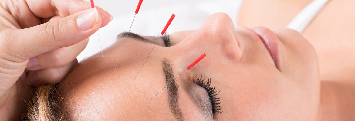 gran massage face lifting with acupuncture